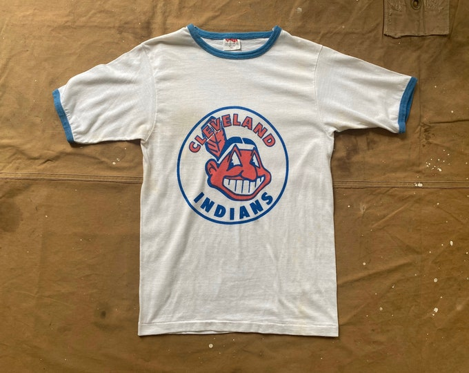 1960s Cleveland Indians Ringer Tee