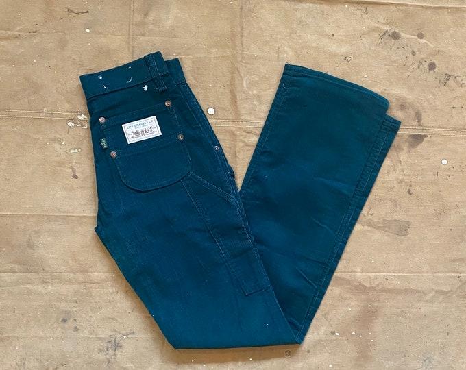 1970s Levi's 25 Waist Corduroy Carpenter pants NOS*