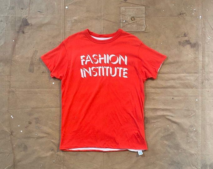 Reversible '70s Champion Fashion Institute t-shirt