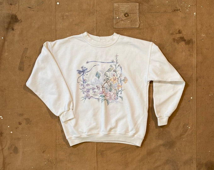 90s Herb Garden Sweatshirt Flower