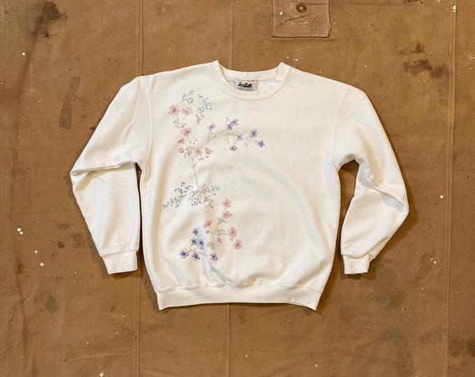 Flower Sweatshirt Northern Reflections
