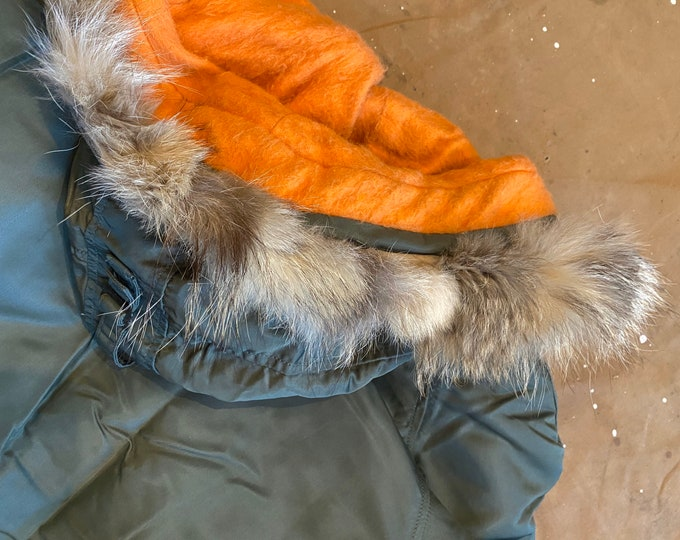 60s  Extreme Weather Parka Coyote Fur