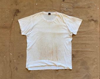 Paint splatter T-shirt Paper thin