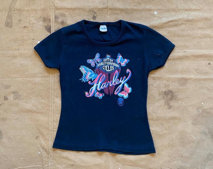 1970s / 80s Harley Davidson T-shirt Fun Tees