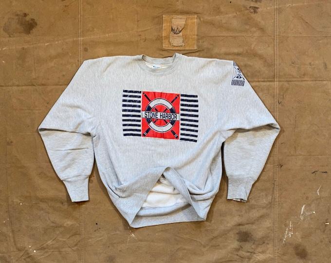 80s Reverse Weave Sweatshirt Champion Silver Tri Blend