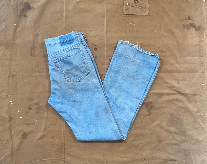 60s Levi's 517 32 waist Single stitch
