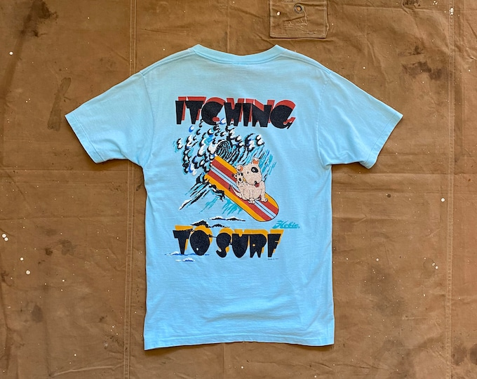 80s Hobie Surf T-shirt Itching to Surf