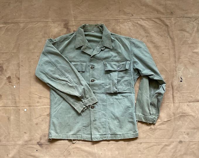50s HBT Jacket US Army Salty Distressed