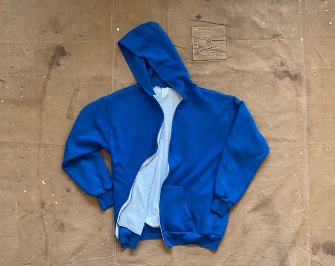 70s Lined Hoodie Faded blue Sweatshirt