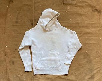 1950s Hoodie White Sweatshirt