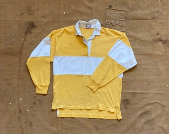 Yellow '80s Rugby