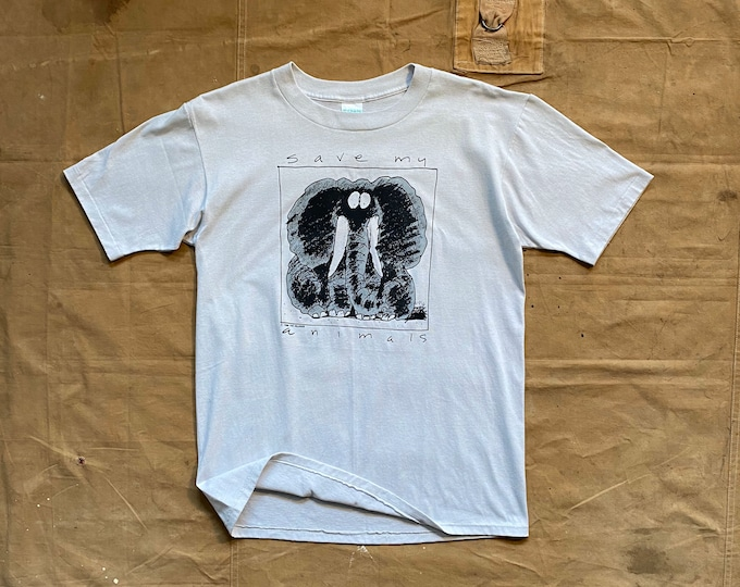 90s Save the Animals T-shirt Wildside