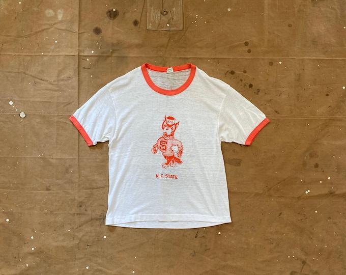 Paper thin '70s NCSU T-shirt Hanes