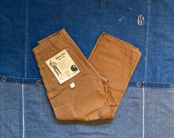 1970s / 80s Carhartt Double Knee Duck Canvas Pants