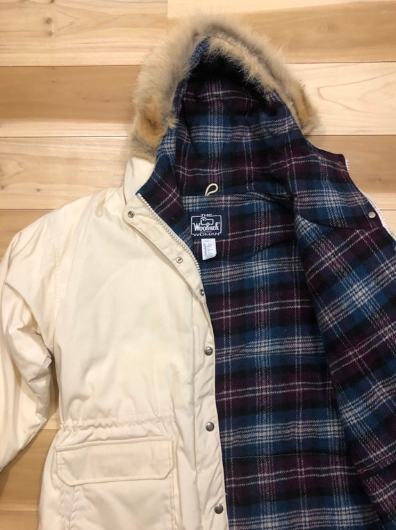 Woolrich Arctic Parka Down Fill Coyote Fur Hood Do