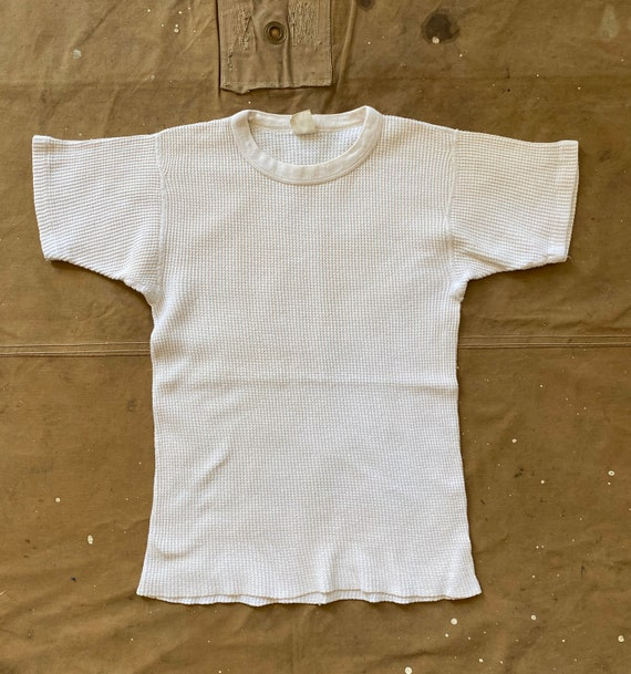 70s Thermal Waffle Short Sleeve