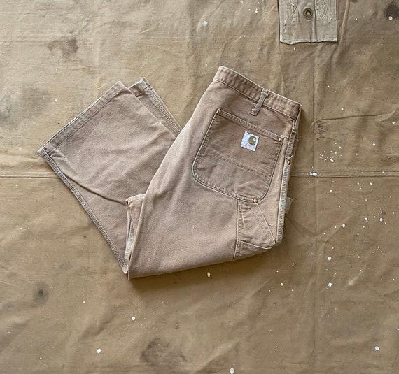 70s Carhartt Double Knee Canvas Pants