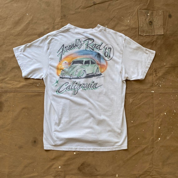 80s Airbrush Hot Rod T shirt Franks '67 Buggy