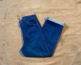 26 waist 1970s Wrangler Jeans High rise