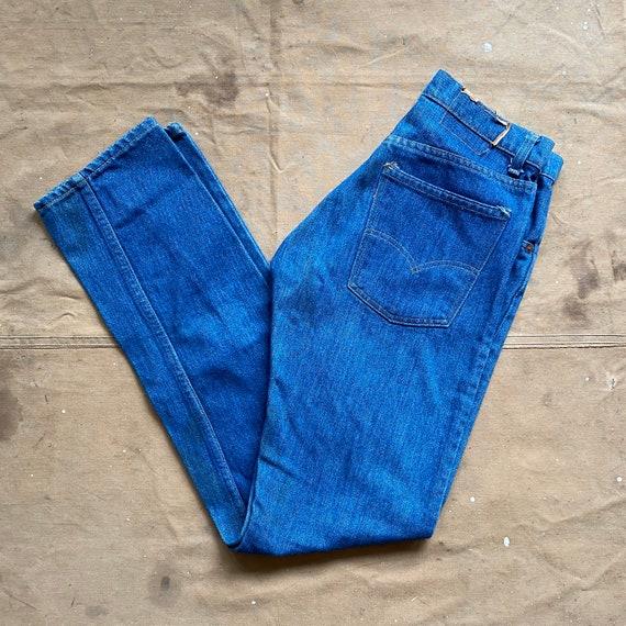 70s Levi's 505 talon zipper 28 Waist