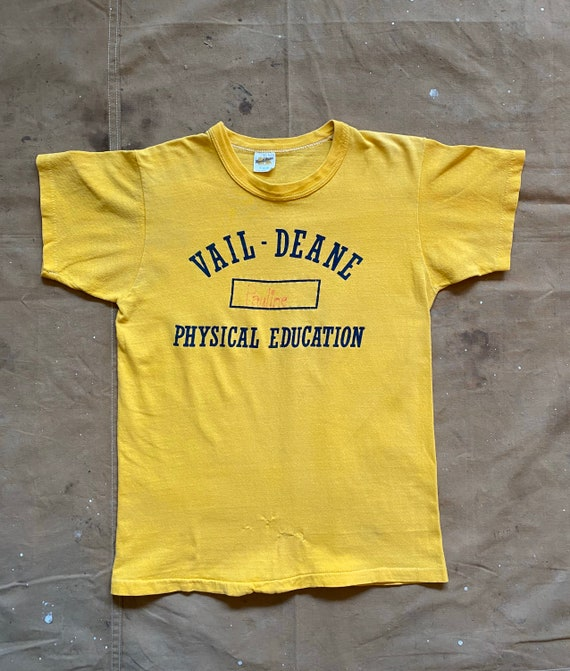 70s Russell Phys Ed T-Shirt - image 7
