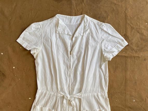 1950s Nurses Apron Uniform