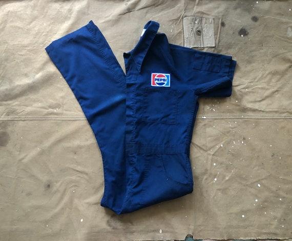 60s Pepsi shop coveralls
