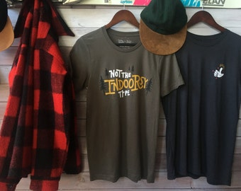 Not The Indoorsy Type T-Shirt Positive Approach X TwoGuysGoodBuys