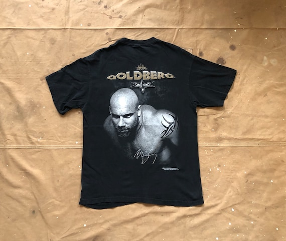 90s WCW Goldberg t-shirt