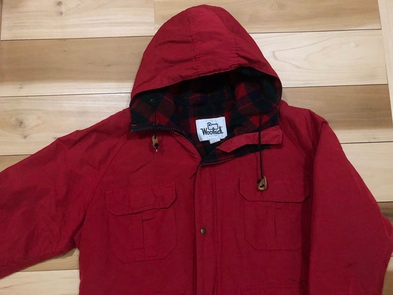 Woolrich Parka Jacket Wool Lined