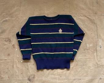 90s Polo Ralph Lauren Crest Wool Sweater