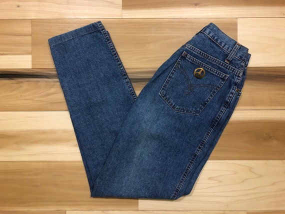 90s Moschino High Waist Jeans Made in Italy 26 waist