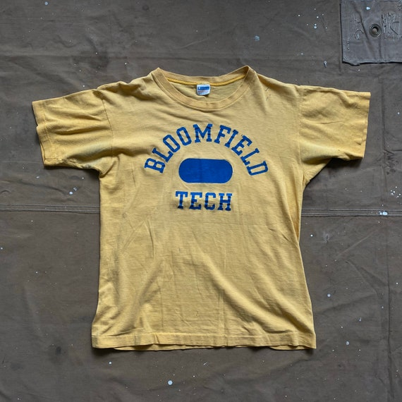 70s Champion Shirt Bloomfield Tech