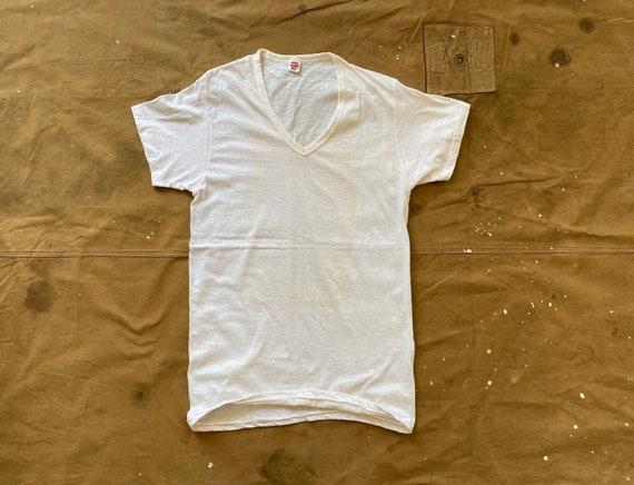 60s Hanes V neck T-shirt