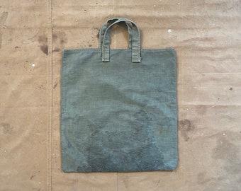 HBT 1940s / 50s Tote bag Herringbone Tweed