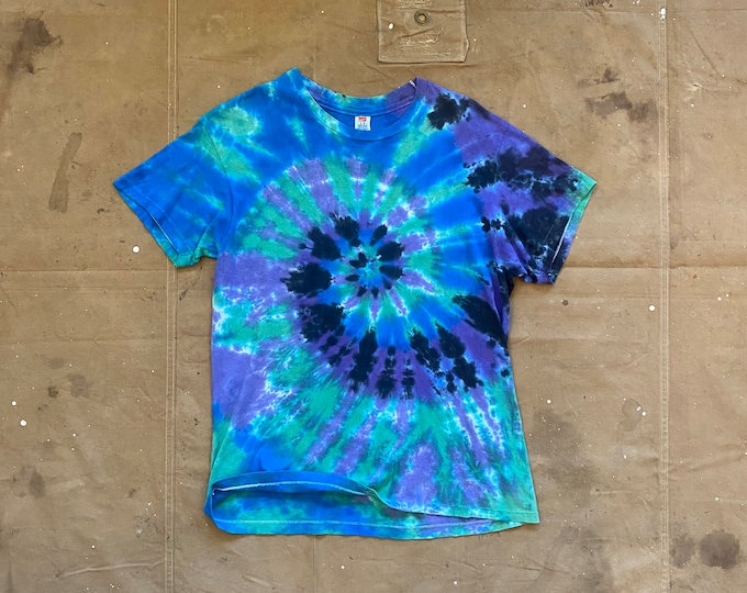 Tie Dye T-Shirt Single Stitch