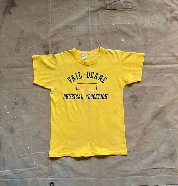 70s Russell Phys Ed T-Shirt - image 1