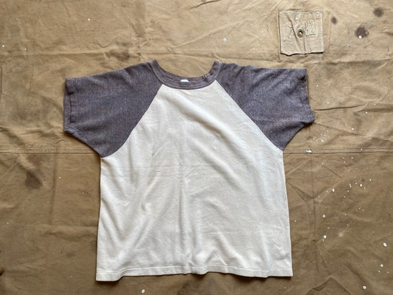 60s Towncraft Sweatshirt Raglan short sleeve