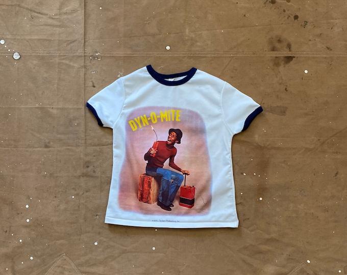 Dye-O-Mite '70s Photo Realistic Print T-shirt Jimmy Walker