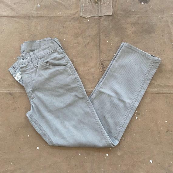 50s Wrangler Jeans 26 Waist Gray
