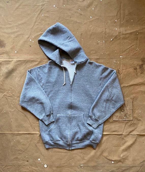 70s Sweatshirt Jerzee Heather Gray tri blend