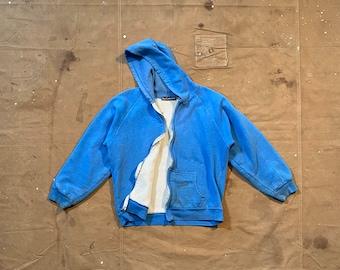 Sun Faded '70s Tri blend Sweatshirt BlueThermal Lined