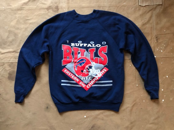 90s Buffalo Bills Sweatshirt 1990 Eastern Division