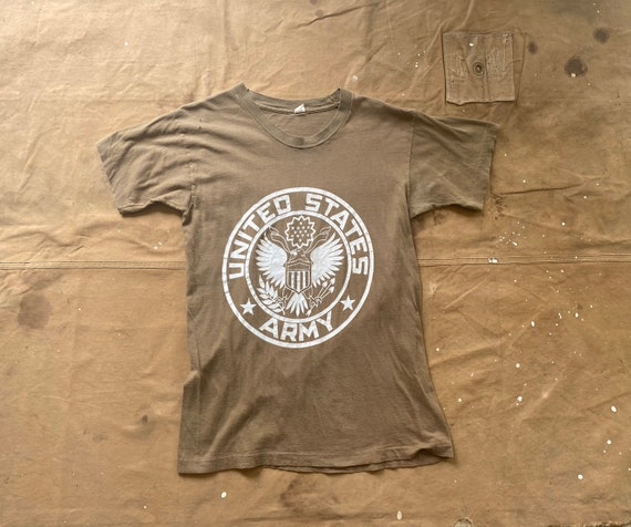 70s US Army t-shirt 100% Cotton