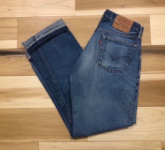 80s Levi's 501 redline Made in USA 100% Cotton 28 waist