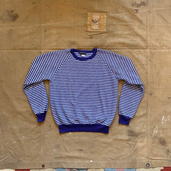 70 Sweatshirt Raglan Stripe