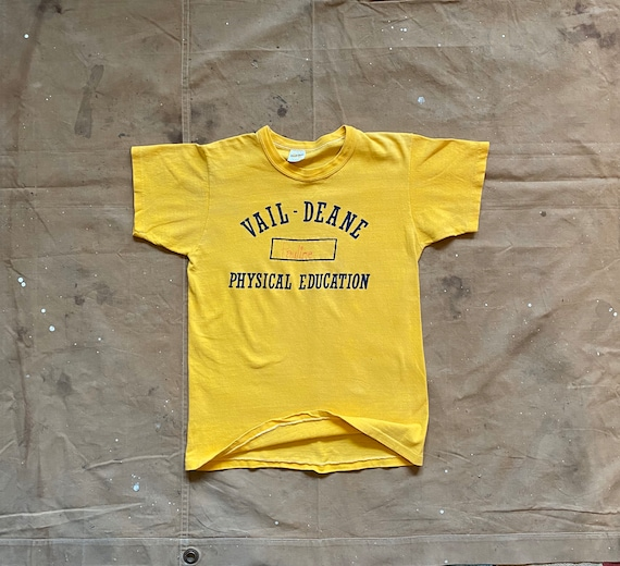 70s Russell Phys Ed T-Shirt - image 3