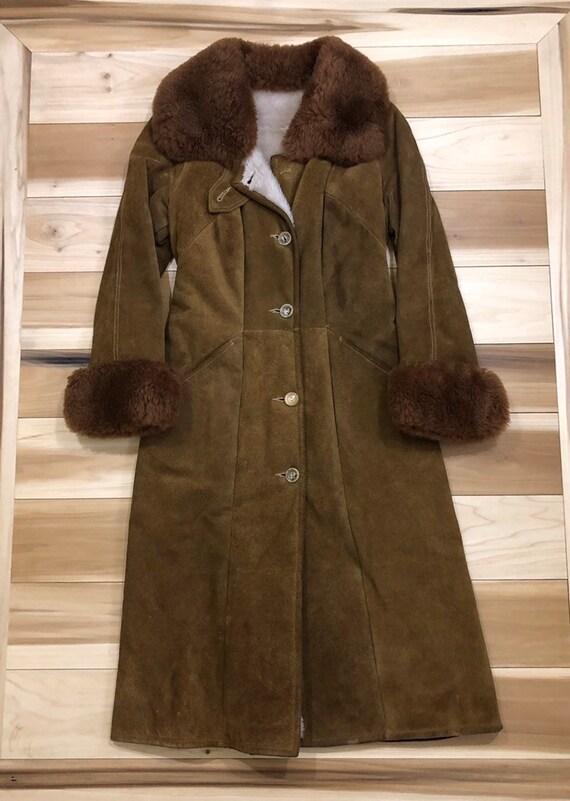 Shearling Sheepskin Jacket Fur Collar