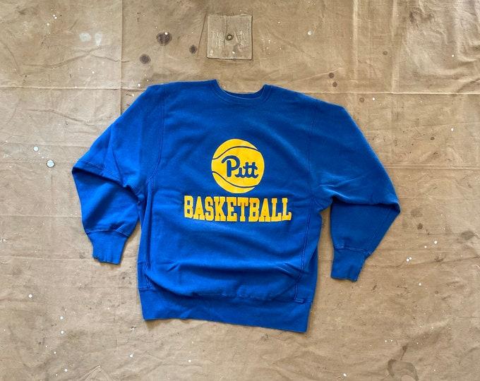 Pitt '80s Reverse Weave Basketball Champion Sweatshirt