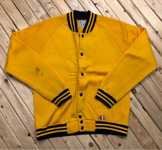 70s Champion Products Inc Cardigan Track Jacket Ny